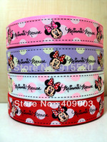 Wholesale Animal Print Grosgrain Ribbon - 10Y4403 kerryribbon free shipping 7 8'' choose color printed ribbon Grosgrain ribbon headwear handbands