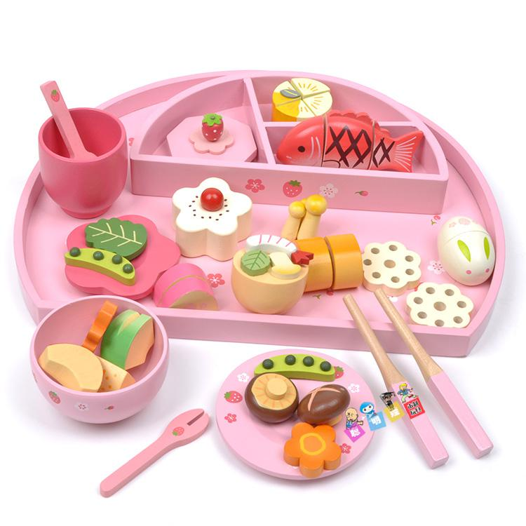2018 Baby Toys Mother Garden Strawberry Play House Wooden