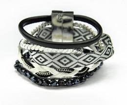 Wholesale Ipanema Bracelets - Bohemia Multilayer Weave Ipanema bracelets hippie pulseras hipanema bracelet beach boho Bracelet women free shipping
