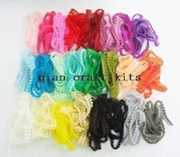 Wholesale Wholesale Blythe Dolls - Wholesale-100 yards Very Tiny pom pom trim assorted colors for making Blythe and dolls clothes mix color Pom Pom Trim or you pick color