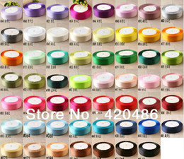 Wholesale Free Ribbon Crafts - Wholesale-Wholesale - Retail 25 Yards 40mm 4cm Width Satin Ribbon Bow Wedding Party Craft Decoration Free Shipping
