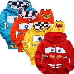 Wholesale New Boys Pixar Cars - 2015 New Children Hoodies Cars Pixar Sweatshirt Jacket Boys Spring Autumn Coat Kids Long Sleeve Casual Outwear Baby Clothing