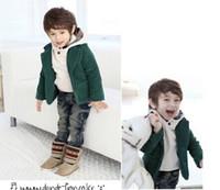 Wholesale Korean Handsome Baby - Autumn 2015 child girls hooded pullovers outerwears baby Boys fleece sweatshirts handsome Cool Korean children clothing Hoodies