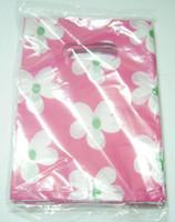 Wholesale Jewelry Bags Plastic Designs - 95pcs lot Mix Colors Design Plastic Shopping Gift Pouches Bags For Shopping Jewelry Gift WB15 Free Shipping