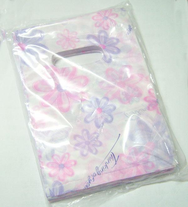 / mix färger stil plast shopping presentväskor påsar förpackning display för diy mode smycken wb9