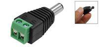 dc cabo de alimentação 2.5mm venda por atacado-Popular Hot CCTV UTP Tomada De Alimentação adaptador de Cabo DC / AC 2 2.5mm CCTV DC Power Plug Adapter Conector Macho
