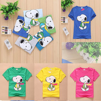 Wholesale Wholesale Minion T Shirts - New 2016 Cartoon Anime Children's T Shirts for Girls Minion Costume Children's Clothing Comfortable Cotton T Shirts Children Boy Set