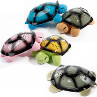Wholesale Star Light Turtle Toy - Christmas Lights For Bedroom Turtle Toy Light Music Led Light Stars Constellation Lamp With A Box