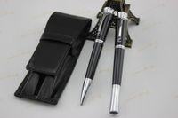 Wholesale Monaco Leather - 2015 Real Pens Free Shippingprincess Grace De Monaco For Pen Roller + Ballpoint Pen+new Design Leather Case#school Resin