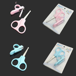 Wholesale Cutter Sets Nail Baby - New Stylish Baby Toddlers Daily Care Manicure Set Nail Clipper Cutter Scissores