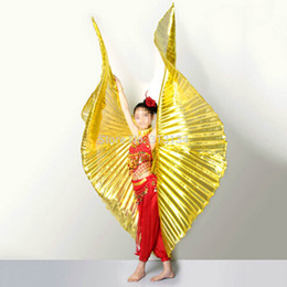 Wholesale High Quality Belly Dance - Wholesale-1pc High Quality Egypt Costume Isis Belly Dance Wings Dance Wear Wing christmas gift Belly Dance Accessories