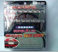12v außenbeleuchtung großhandel-Car Exterior Dekoration LED Tag Licht-Auto läuft Tageslicht-Auto LED 6LED DRL Daylight Weiß 12V DC Kopflampe