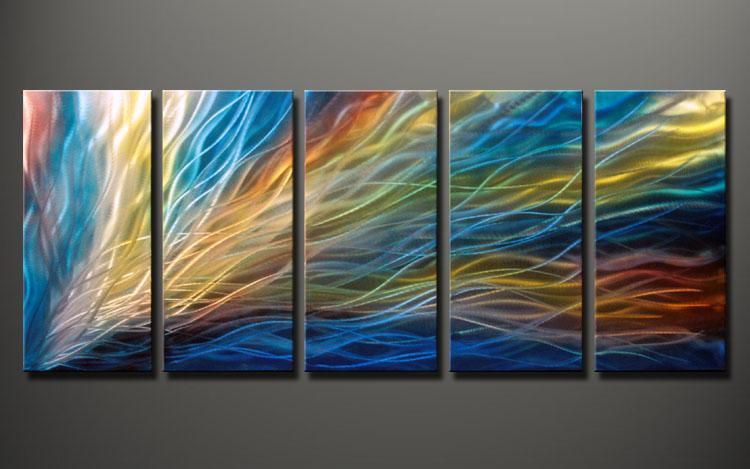 Metal Sculptures And Art Wall Decor: METAL Oil Painting,abstract Metal Wall Art Sculpture