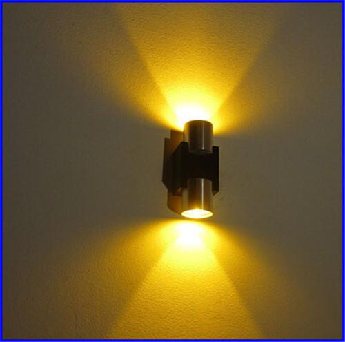 2W LED Wall Light Sconce Decor Fixture Light Lamp with Scattering ...