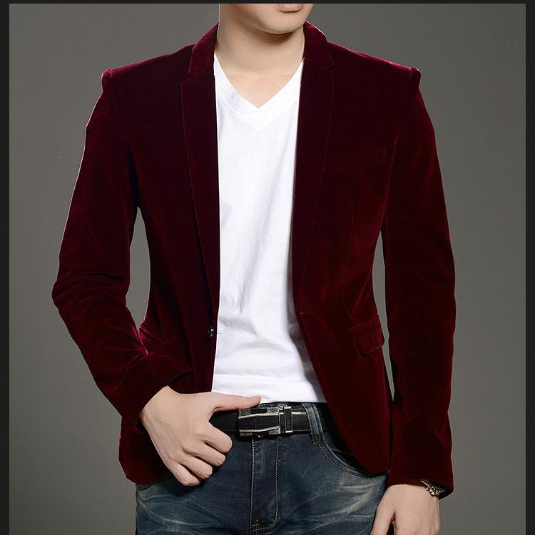 2017 Alibaba Express New Casual Corduroy Ternos Masculino Office ...