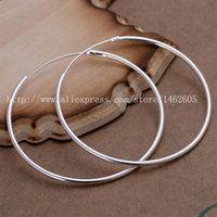Wholesale Hoop Earring Supplies Wholesale - Wholesale-E042 2015 New supplies earrings fashion high quality