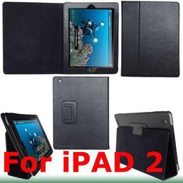 Spedizione gratuita 5 pezzi custodia in pelle mista custodia con supporto per Apple iPad 2 2G da