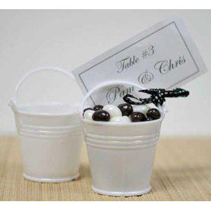 FREE SHIPPING+100PCS White Tin Pails, Mini Pails, Mini Bucket Baby shower, Party Decoration, Wedding Supply, wedding gifts candy boxes