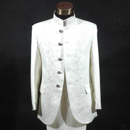 Men's White Tunic Dress