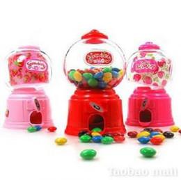 Wholesale Wholesale Capsule Machines - Mini Gumball Machine Party Favors, candy dispenser machine gumball machine capsule vending machine