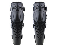 Wholesale Motorcycle Shin Guards - Wholesale-1Pair Motorcycle Racing Motocross Shin and Knee Pads Protector Guard Protective Gear Knee Brace Joelheira Taticas Rodilleras ZDD