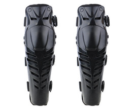 Wholesale Motorcycle Guards - Wholesale-1Pair Motorcycle Racing Motocross Shin and Knee Pads Protector Guard Protective Gear Knee Brace Joelheira Taticas Rodilleras ZDD