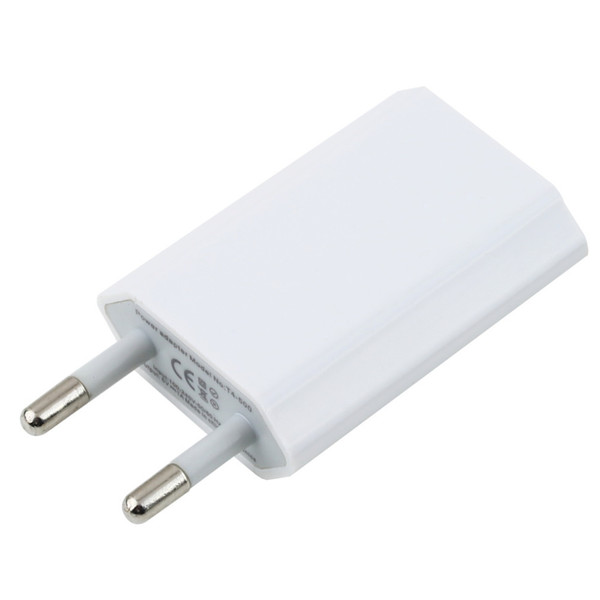 EU Plug USB Power Home Wall Charger Adapter for for iPhone 3GS 4G 4S 5 Hot Selling