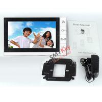 Wholesale Video Intercom Sd - Wholesale-9 inch doorphone monitor support SD Card video recording intercom (just monitor)