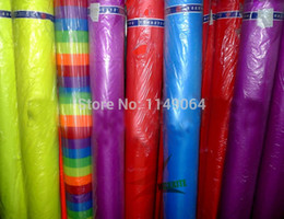 Wholesale Kites Free Shipping - Wholesale- free shipping high quality 10m x1.5m ripstop nylon fabric various colors choose 400inch x 60in kite fabric ripstop hcxkites