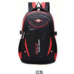 Wholesale Shoulder Bags For Middle School - Wholesale-Good Quality Primary middle school backpacks kids Children school bags for boys girls backpack Nylon waterproof 5802