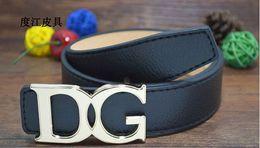Wholesale Kids Leather Belt Quality - Wholesale-2015New brand hot designer kids PU leather belts children fashion letters buckle belt girls boys Leisure strap high quality