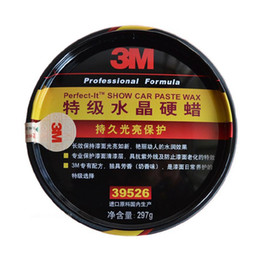 Wholesale Car Waxes - Wholesale-2015 Newly Arrival And Hot Sale 3M Genuine Car Crystal Hard Wax For Car Polishes - Photo Color CAR-0099