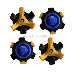 Wholesale Golf Shoes Spike - Wholesale-Free shipping 28 Pcs lot Golf Shoe Spike Replacement Twist Screw Studs Stinger Cleat Champ Fast - Wholesale ^d1^
