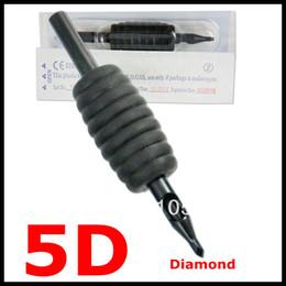 Оптовая продажа 5D силиконовые одноразовые черные татуировки ручки трубки советы и машина 25 мм 1