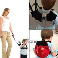 Gros-New style mignon bébé chauve-souris Kid Keeper Toddler Safety Harnesses Strap Sac à dos Band