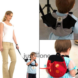 Wholesale Safety Harness Toddler Bat - Wholesale-New Cute Style Baby Kid Keeper Toddler Safety Harnesses Strap Backpack Bag Band bat