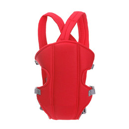 Baby Sling Red Pas Cher-Gros-Baby Carrier wrap fronde Rider Infant Comfort sac à dos Bleu Rouge Couleurs 2015 New Dropship