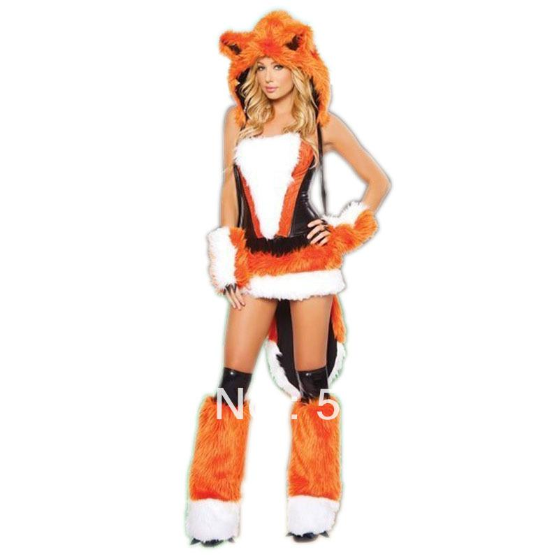 see larger image - Womens Wolf Halloween Costume
