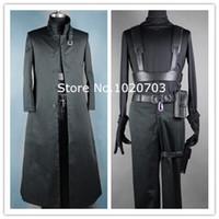 Wholesale Darker Black Cosplay - Free shipping Li Shenshun Darker than Black: The Black Contractor Kuro no Keiyakusha Hei Cosplay Costume Anysize