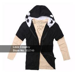 Wholesale Projects Games - 2pcs set Kagerou Project K Project MekakuCity Actors Kano Hoodie Cosplay Costume Unisex Coat