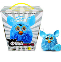 Wholesale Russian Speaking - Wholesale-Newest Firbi Plush Toys Speaking In Russian Elves Recording Electronic Toys Compatible with Furby