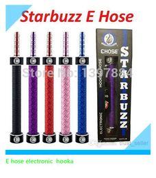 Wholesale Hookah Vapor Pens - Wholesale-New Starbuzz E Hose Electronic Hookah pen huge vapor e hose smoking hooka pen cartridge ecig kit hookah pen starbuzz hookahs