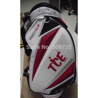 All'ingrosso-Tice 2015 Ball Bag Nuovo professionale carrello da golf Caddie Red Bag bianco con con l'alta qualità