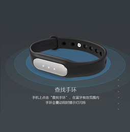 Wholesale Miui Stock - Wholesale-IN STOCK! 100% Original Xiaomi MiBand , Smart Xiaomi Mi band Bracelet for Xiaomi MI4 M3 MIUI