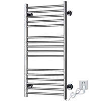 Wholesale Bathroom Electric Towel Warmer - Wholesale-Supernova Sale Heated Towel Rail ,Stainless Steel Electric Wall Mounted Towel Warmer&Riwa Dryer,bathroom Accessories Towel