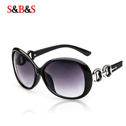 Wholesale lady large rings - Wholesale-2015 New fashionable Large frame vintage sunglasses women UV400 lady brand designer TGS006 ring glasses legs 8 color sunglasses