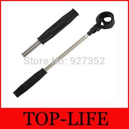 Wholesale Golf Retriever - Wholesale-2M Stainless And Plastic Steel Shaft Retractable Scoop Telescopic Golf Ball Pick Up Retriever Golf Ball Retriever
