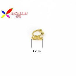 Wholesale Clip Earrings Star - Wholesale-2015 fashion 14designs gold silver cross star bear skull wings snow bow non-pierced clip earrings cuff for women bijoux