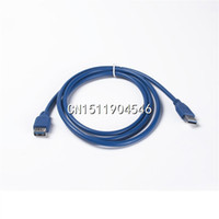 Wholesale- Hot Sell 1. 5m Super High Speed USB 3. 0 M F Male To...