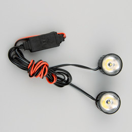 Wholesale Led Strobe Brake Light - Wholesale-High quality Motorcycle Moto Flash Strobe Emergency Warning Brake Light LED Lamp Lighting White New